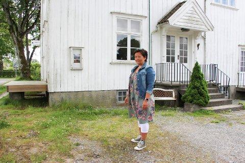Vedlikehold: Leder for Rakkestad kunstforening, Heidi Saxegaard Eriksen er glad for at kommunen har vært på befaring og vil legge frem en sak for politikerne.