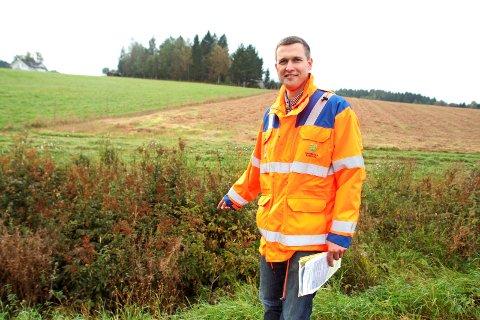 Bård Kollerud ved kommunens landbrukskontor håper mange bønder som har spørsmål om avlingssvikterstatningen kommer på møtet.
