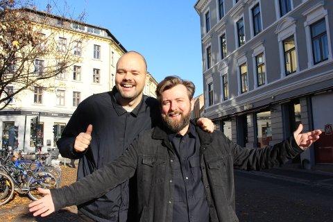 TURNÉ: Komikerne Berrum og Beyer skal ha show i Rakkestad torsdag 28. november.