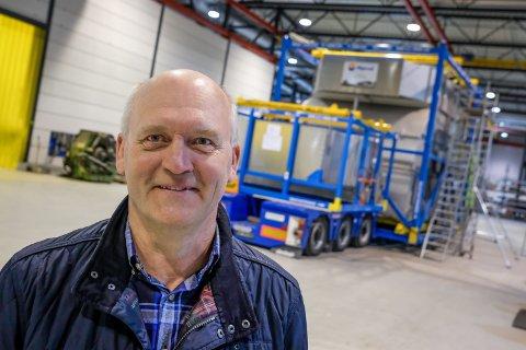 Full drift: – Jeg er ved godt mot. Vår bransje får nyte godt av at det ikke blir en bråstopp, sier Ole E. Torp i Mjørud AS.  Arkivfoto