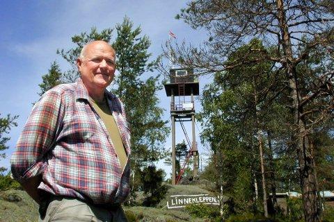 VIL HA REGN: Per Erik Evensen håper på skikkelig rotbløyte . Arkivfoto