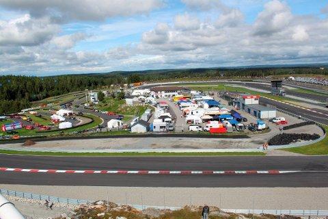 PLANER: Rudskogen Motorpark har fått tildelt rundt 7,7 miollioner kroner.