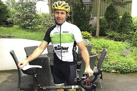 IVRIG: Espen Mikalsen er en ivrig syklist.
