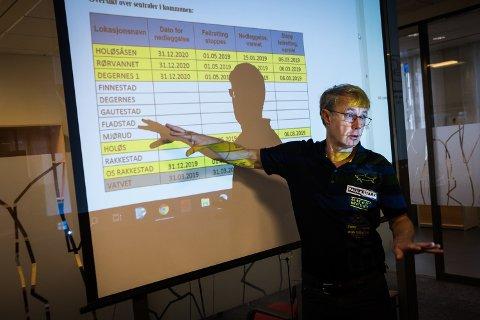 LEGGES NED: Dekningssjef i Telenor, Bjørn Amundsen forklarte blant annet om nedleggelse av kobbernettet under møtet med Senterpartiet.