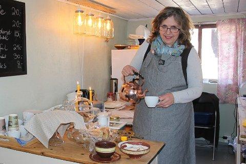 NY SESONG: Anita Haglund Grindvold inviterer til en nye gårdssesong. Arkivfoto Elin Marie Rud