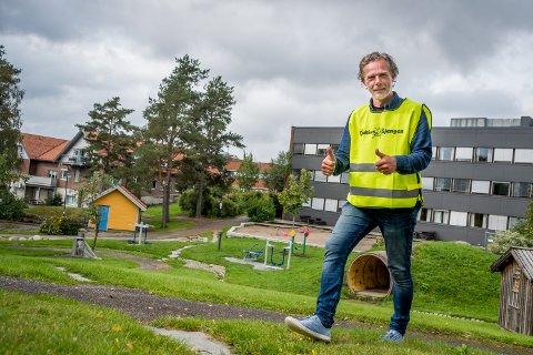 VIL GJENREISE TJUKKASGJENGEN: Frank Skjærbekk vil starte opp Tjukkasgjengen i Rakkestad igjen.