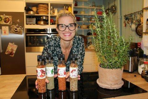 MATBLOGGER: Her er Marit Røttingsnes Westlie i forbindelse med lanseringen av sitt nye Fru Timian-krydder.