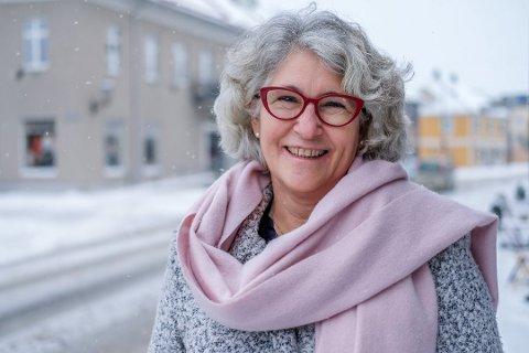 FORNØYD: Kultursjef Grethe Torstensen er storfornøyd med antall besøkende på Rakkestad kino.
