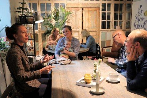 - REDUSÉR MOMSEN: Stine Marie Bjørnstad som driver Fru Blom Studio, presenterte i september et forslag som kan komme andre i samme bransje til gode. Foto: Arkiv