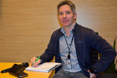 Barn: Kommuneoverlege Jan Børre Johansen opplyser at  yngstemann i kommunen som har fått påvist korona-smitte er en 9-åring.
