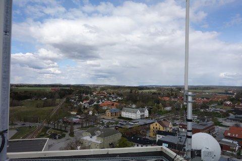 Rådgivning: Lokale bedrifter som er rammet av koronakrisen oppfordres til å ta kontakt med Næringshagen Østfold (i det gule bygget).