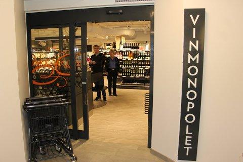 INGEN GRENSEFLUKT: Vinmonopolet i Rakkestad opplevde ikke kundeflukt som følge av at grensen til Värmland åpnet i juli.