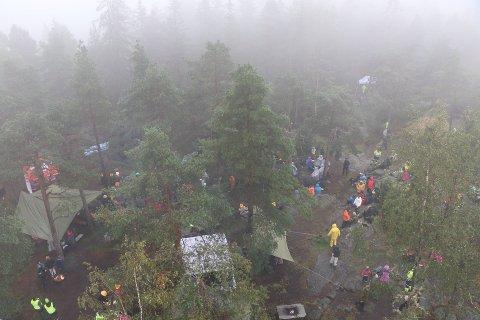 UTDANNINGSARENA: Skogselskapet Østfold vil utvikle Linnekleppen. Utdanning, turisme og miljø er stikkordene.
