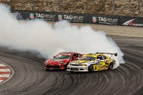 DUELL: Finalen mellom Tor-Anders Ringnes og Andreas Øvergaard var ifølge arrangøren konkurransens beste duell.