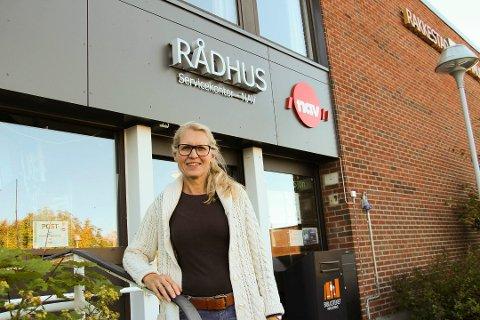 Redegjorde: Kommuneoverlege Astrid Rutherford opplyste om hvordan korona-situasjonen er i Rakkestad.