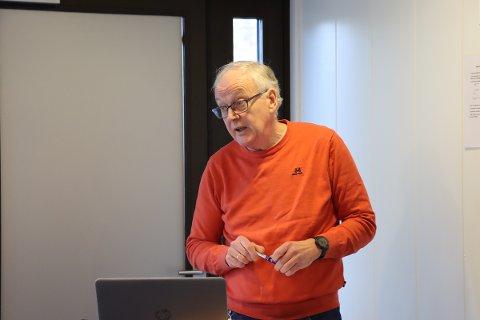 Vaksinering: Rådmann Alf Thode Skog bekrefter at de vaksinerer flest mulig helsearbeider i frontlinjen i den takten de har anledning til.