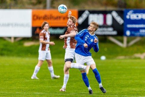 Seier: Det ble tre nye poeng for Rakkestad-guttene mot SFK. Dette bildet er fra forrige seier over Borgen i september.