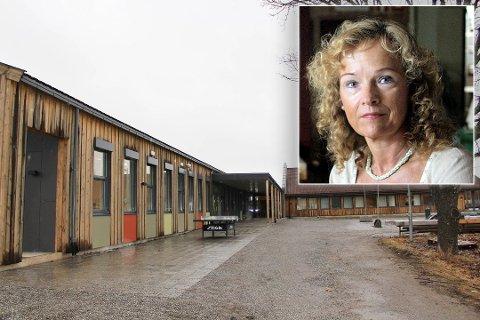 VANLIG SKOLE: Rektor ved Kirkeng skole, Borghild Johanne Øby, forteller at skolestart gikk som normalt for elevene som ikke var på SFO i påskeuken.