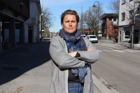 Misfornøyd: Ordfører Karoline Fjeldstad er ikke fornøyd med at Statsforvalteren tar tilbake skjønnsmidlene som ble bevilget til Skogselskapet i Østfold i 2018.