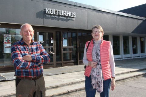 Leder og nestleder: Halvard Berg og Barbara Weibye er nyvalgte som henholdsvis leder og nestleder i Rakkestad historielag.