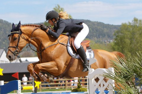 Uttak: Maria Louise Kingsrød fra Degernes skal ri for Norge i Falsterbo Horse Show.