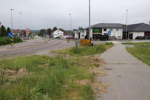 Rufsete: Slik så det ut da Rakkestad Avis tok et bilde av kantklippingen i juni.
