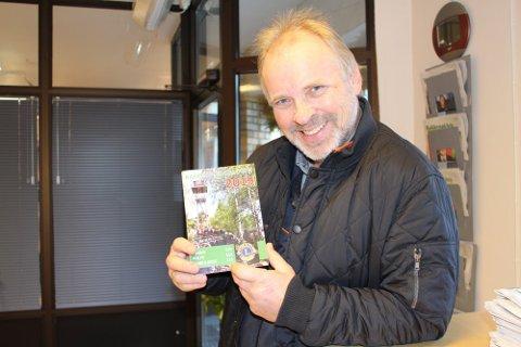 Rakkestadkatalogen: I flere år har Aage Solbrekke bidratt til utgivelse av Rakkestadkatalogen, og hvert år skjer det samme. Arkivfoto.