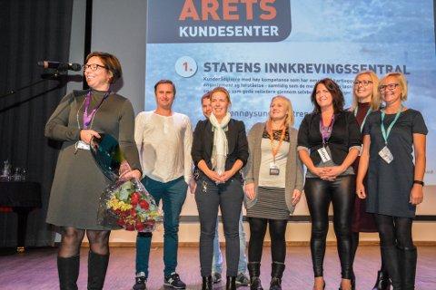 SI fikk prisen som Årets kundesenter.