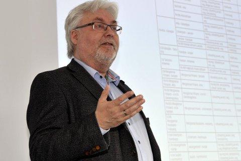 PESSIMISTISKE: Kai Henriksen mener tallene fra Urbanet er for pessimistiske. Foto: Øyvind BRatt