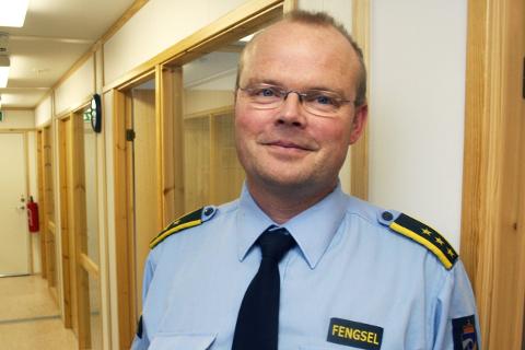 SOM VENTET: Fengselsleder Frank Ivar Lie hadde ikke forventet penger til nytt fengsel i Mosjøen. FOTO: Christopher Engås