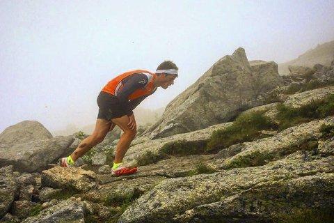 Rolf Einar Jensens oppkjøring til en ny sesong har ikke bare handlet om å gå på ski - han stortrives i oppover i fjellene.