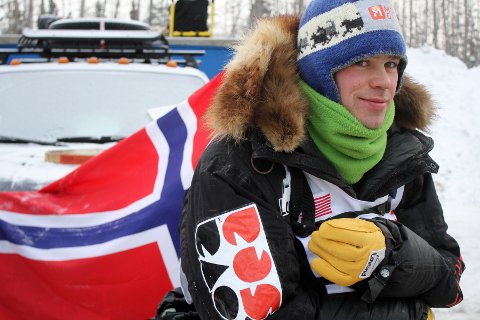 Joar Leifseth Ulsom tok en ny topplassering i Iditarod.