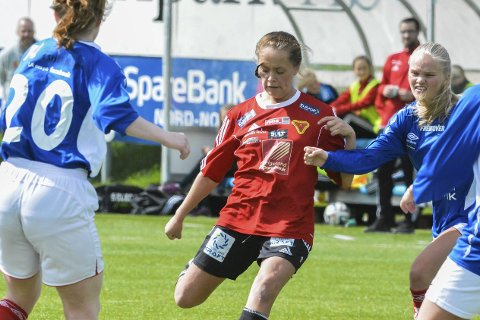 HELTEN: Ingrid Altermark berget Medkila med scoring.