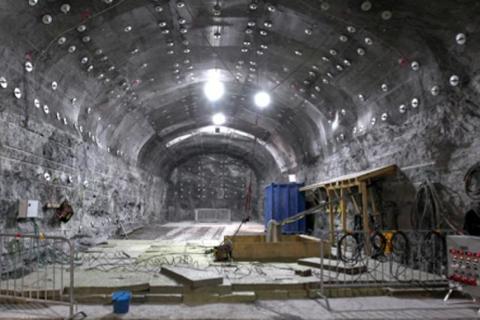Lager for atombrensel bygget i Finland. Det er ikke kjent om Rosatom vil bygge lager av samme type.