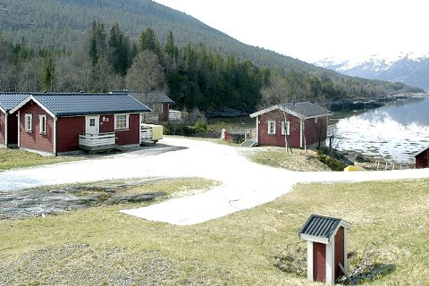 Økning: Campingplasser i landsdelen har en økning i trafikken på 13 prosent i oktober sammenlignet med i fjor.arkivfoto