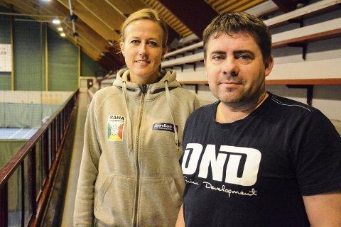 Vil finne løsning: Kristin Ludvigsen og Roy Millerjord er begge positive til at noe må gjøres med vedtaket.Foto: Kenneth Haagensen Husby