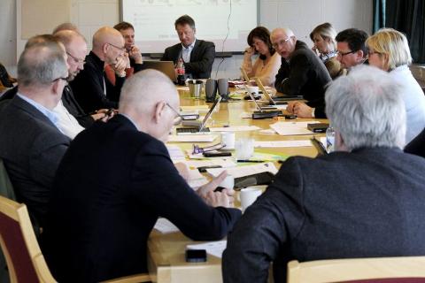 Formannskapet i Rana. Foto: Harald Mathiassen