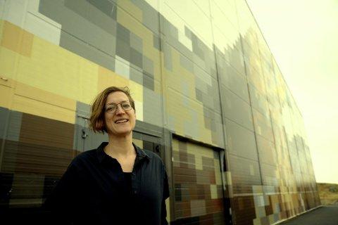"""INITIATIVTAKER: Ny utviklingssjef i Træna Kommune tok denne helga initiativ til workshopen """"TENK TRÆNA"""". Kunstnerboligene er et av flere prosjekter man tok for seg her. Foto: Ida Madsen Hestman"""