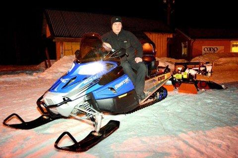 Lars Egil Sætermo er glad for vedtaket i stortinget i dag, etter å selv kjempet for ny motorferdselslov i 25 år. Foto: Kristian Rødvand