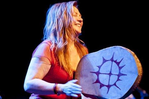 Kjær artist: Mari Boine på Smeltedigelen i 2011. Foto: Bjørn Leirvik