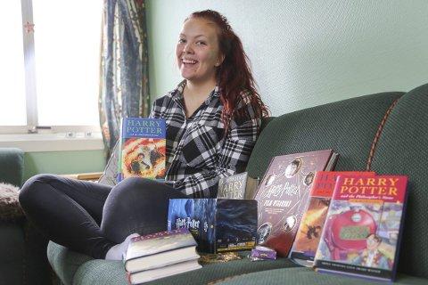 Fay-Renée Olsen Waag mener Harry Potter passer både til liten og stor.