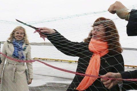 ÅPNING: Fylkesråd Grete Bang sto for åpningen. FOTO: Trond-Erlend Willassen