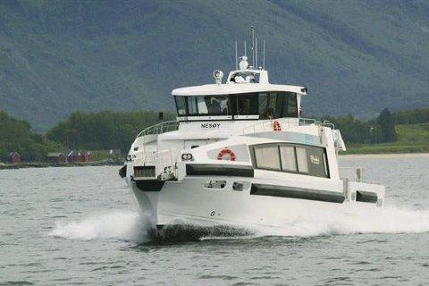 MS NESØY:  Båten har plass til 48 passasjerer.