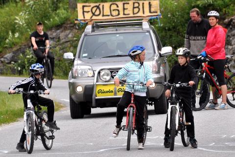 Tur til Frans har blitt en fin tradisjon i Grønnfjelldalen. Her fra 2015-rittet. Foto: Marie Skonseng