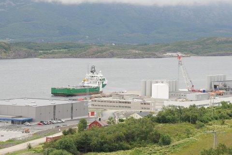 Økonomi: Oljeeventyret på Helgeland er i startgropa. Her fra Helgelandsbase på Horvnes utenfor Sandnessjøen. Illustrasjonsfoto