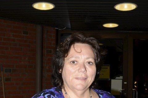 NY SJEF: Christine Trones (H) blir nå den nye politiske sjefen i ordførerstolen de neste fire årene, etter at Sp valgte å støtte henne gjennom et valgteknisk samarbeid. Foto: Arne Forbord