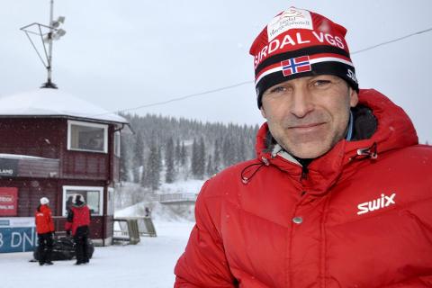 SJefsskryt: Roger Grubben er juniorlandslagets trener, og dermed sentral i VM-uttaket. Foto. Trond Isaksen