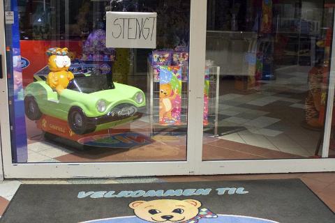 Stengt: Lekehjørnet Mo AS stengte denne uken dørene for leketøysforretningen. Foto: Lisa Ditlefsen