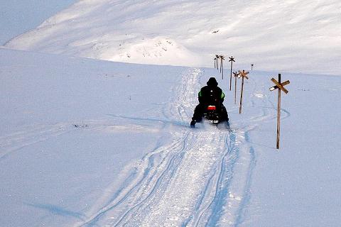 Scootertrafikk: Norske myndigheter aksepterer ikke den svenske scooterlappen.Foto: KLAUS SOLBAKKEN