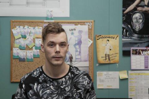 LOKALKONTAKT FOR UKM: Thomas Ukelstad ser fram til årets UKM.
